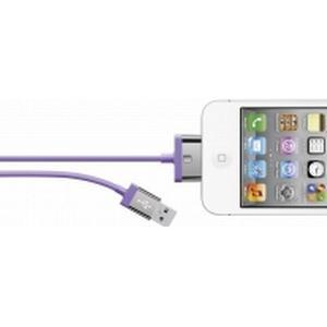 Belkin iPad/iPhone/iPod Datenkabel/Ladekabel [1x USB 2.0 Stecker A - 1x Apple Dock-Stecker 30pol.] 2 m Lil